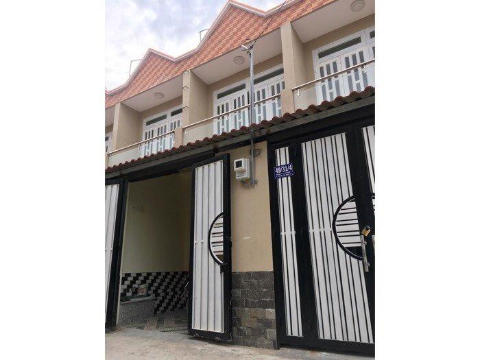 Bán nhà dự án nhà phố phường Thabhj Lộc,Q.12. 60m2 1 trệt 1 lầu,2 PN