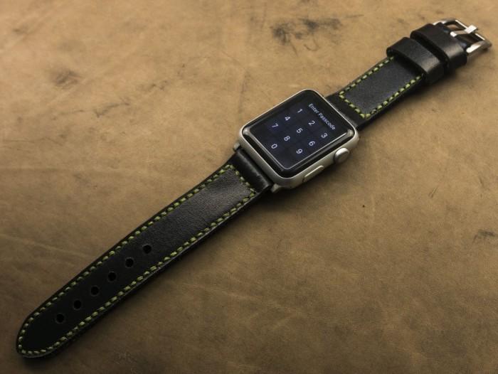 Dây đồng hồ da handmade Thi Atelier3