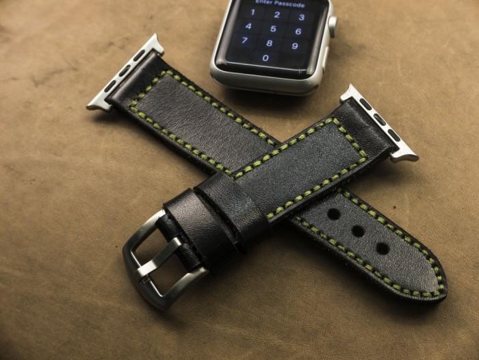 Dây đồng hồ da handmade Thi Atelier2