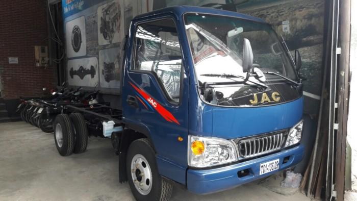 xe tải jac 1.4 tấn màu xanh