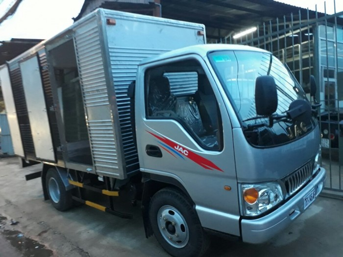 xe tải jac 1.4 tấn thùng kín