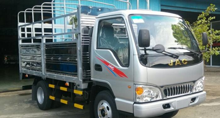 xe tải jac 1.4 tấn thùng mui bạt