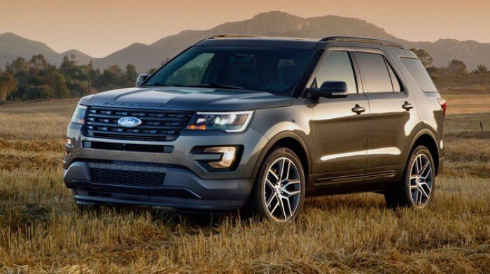 Ford Explorer 2017, 2.3L Ecoboost, Tặng bảo hiểm vật chất