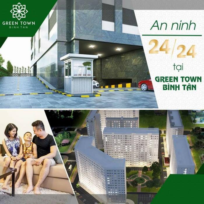 Bán căn hộ chuẩn Hàn Quốc Green Town chỉ với 810 triệu/căn 2PN
