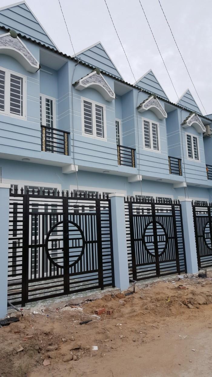 bán nhà Tô Ngọc Vân DT 3x9m, nhà mới 1 trệt 1 lầu, gần ngã tư ga giá 730tr