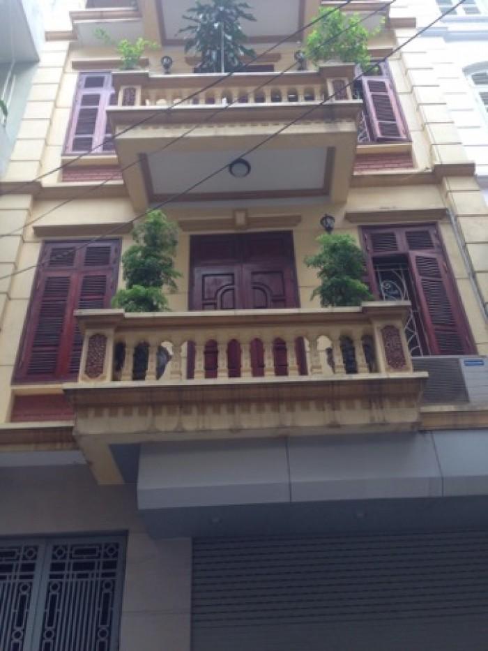 Bán nhà phố Hào Nam - Đống đa, DT 32m x 6 tầng, Mt 5m