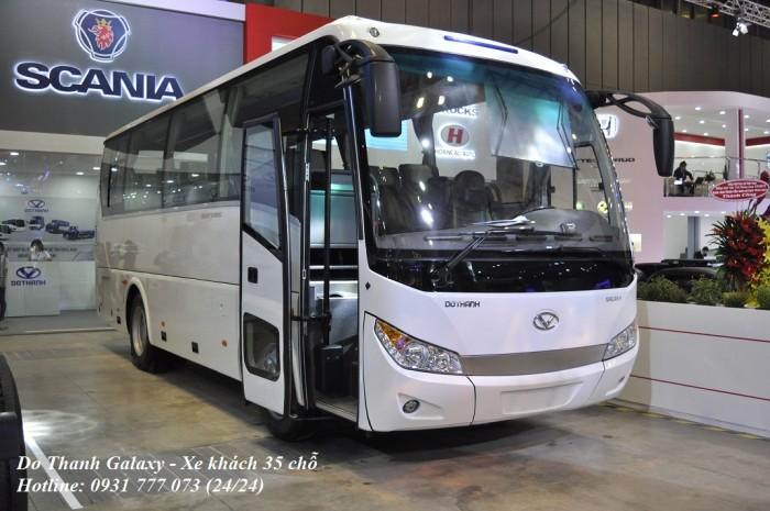 Xe khách Đô Thành Galaxy DHB8S2 - Xe khách 30 chỗ - Hỗ trợ trả góp lãi suất thấp.