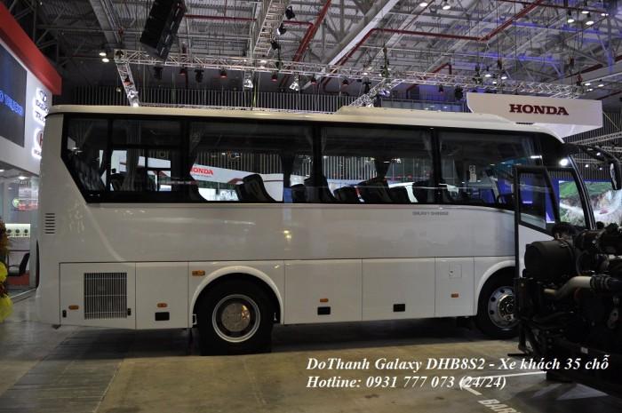 Xe khách Đô Thành Galaxy DHB8S2 - Xe khách 30 chỗ
