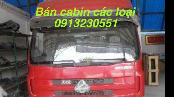 Cần bán cabin xe chenglong m43, m51, m53.