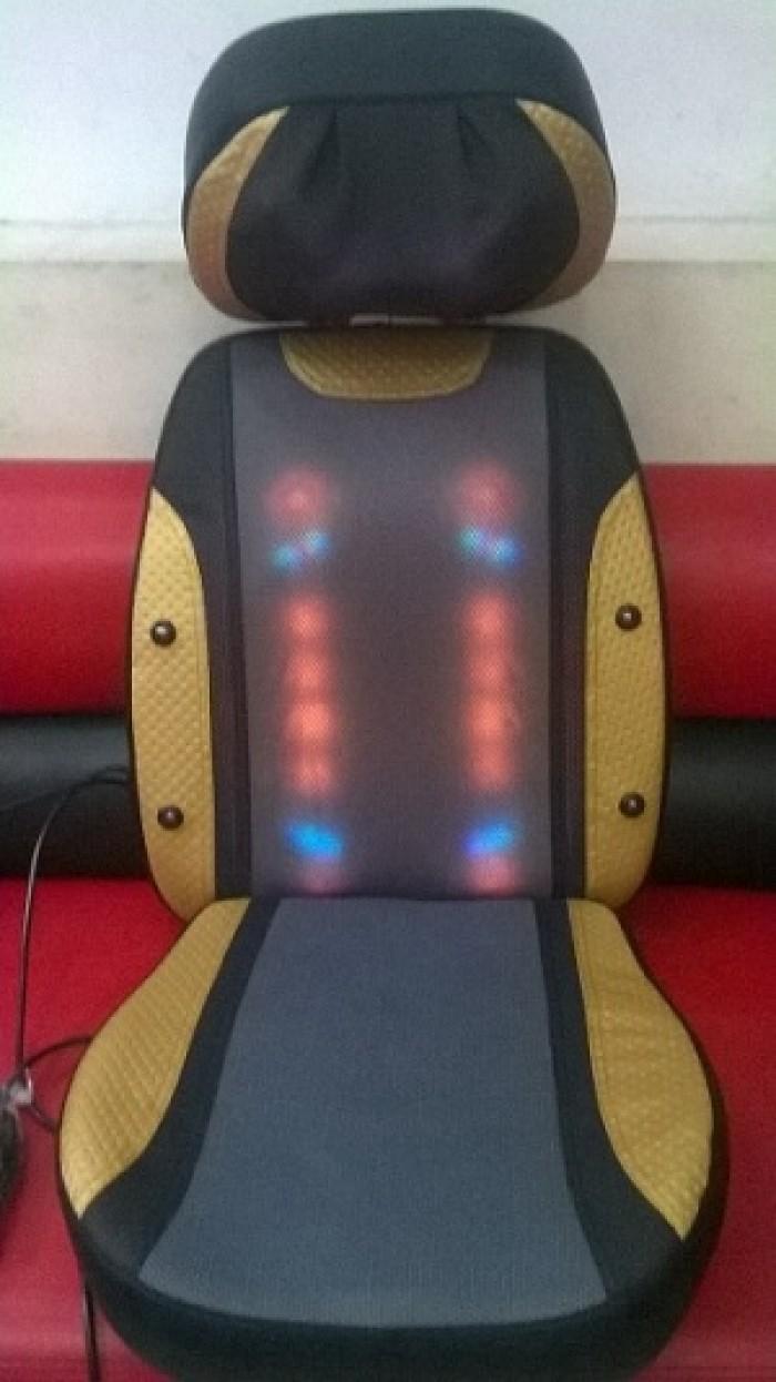 Đệm Ghế Massage Toàn Thân Eneck F06 Nhập Khẩu Nhật Bản Bảo Hành Chính Hãng 36 Tháng