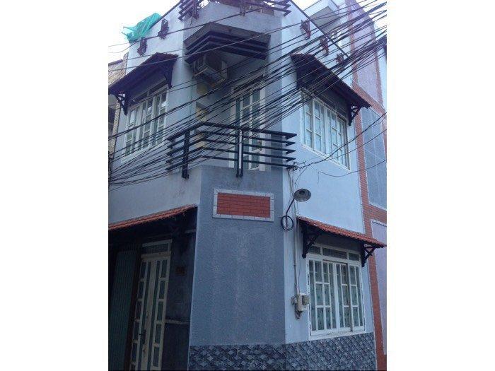 Nhà 2 MT 4x14 đường Bùi Minh Trực phường 6 quận 8 2 lầu