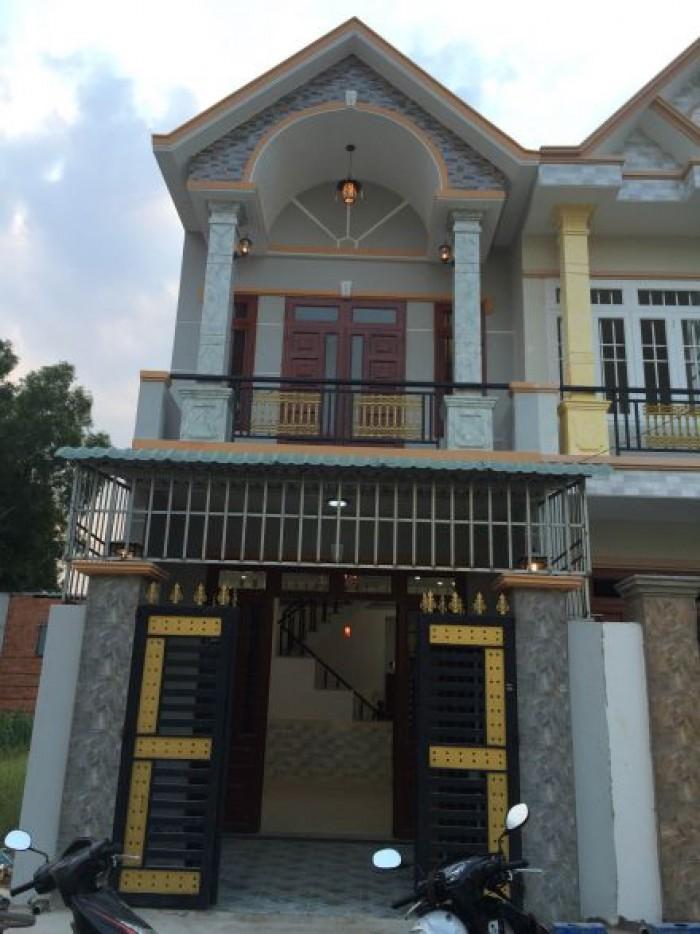 Bán gấp 5 căn nhà gần chợ Gò Đen dt100m2 SHR