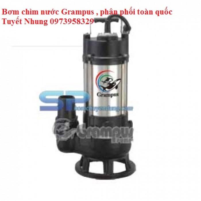 Máy Bơm Chìm Hút Nước Thải Grampus B-1052 0.5HP0