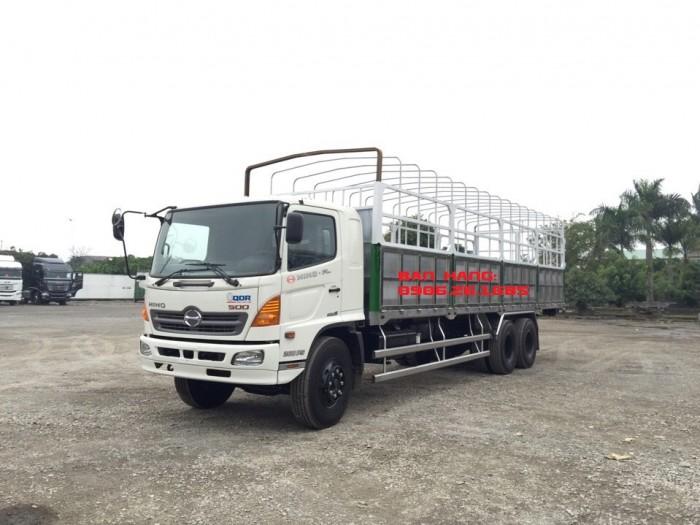 Giá xe tải Hino 15 tấn/16 tấn/15T/16T Đại lý bán xe tải Hino 15 tấn/16 tấn/15 tan 3 chân thùng dài 7,6m và 9,2m 2