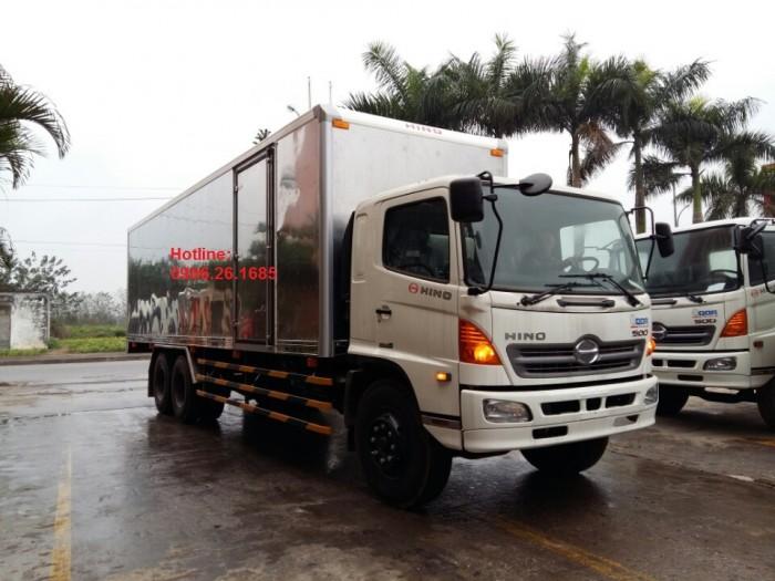Giá xe tải Hino 15 tấn/16 tấn/15T/16T Đại lý bán xe tải Hino 15 tấn/16 tấn/15 tan 3 chân thùng dài 7,6m và 9,2m 0