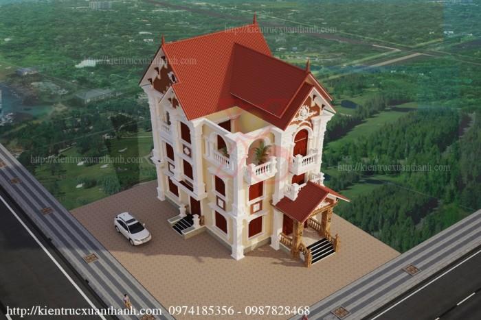 Biệt thự 3 tầng cổ điển