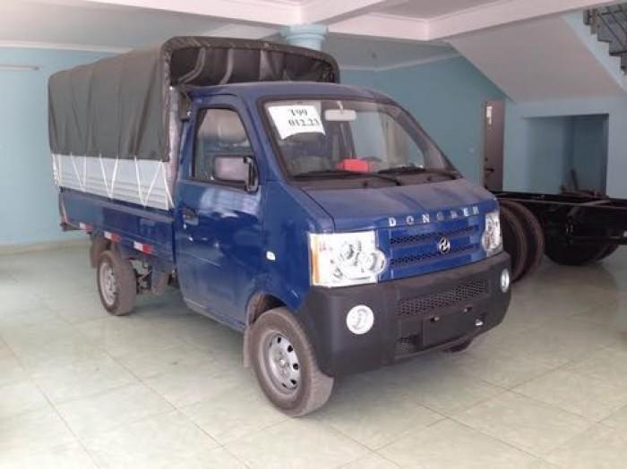 Giá xe 810kg thùng bạt mới nhất hiệu Dongben tại Bình Dương