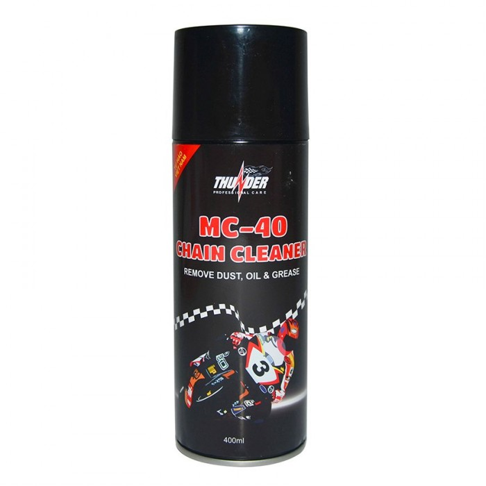 Chai xịt Thunder MC-40 Chain Cleaner 400ml Làm tan cặn dầu, mỡ, han rỉ - MSN388232