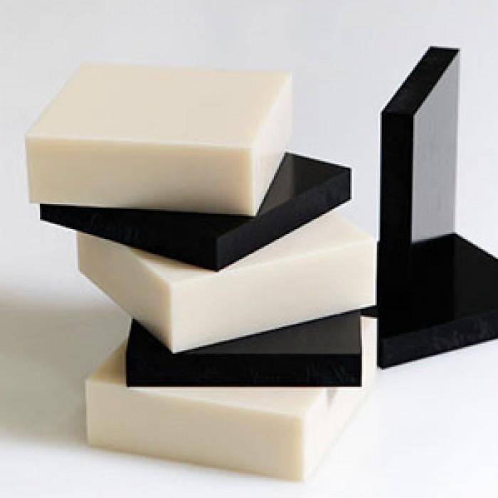 Nhựa tấm PB 108 (Poly Urethane) màu trắng và màu đen0