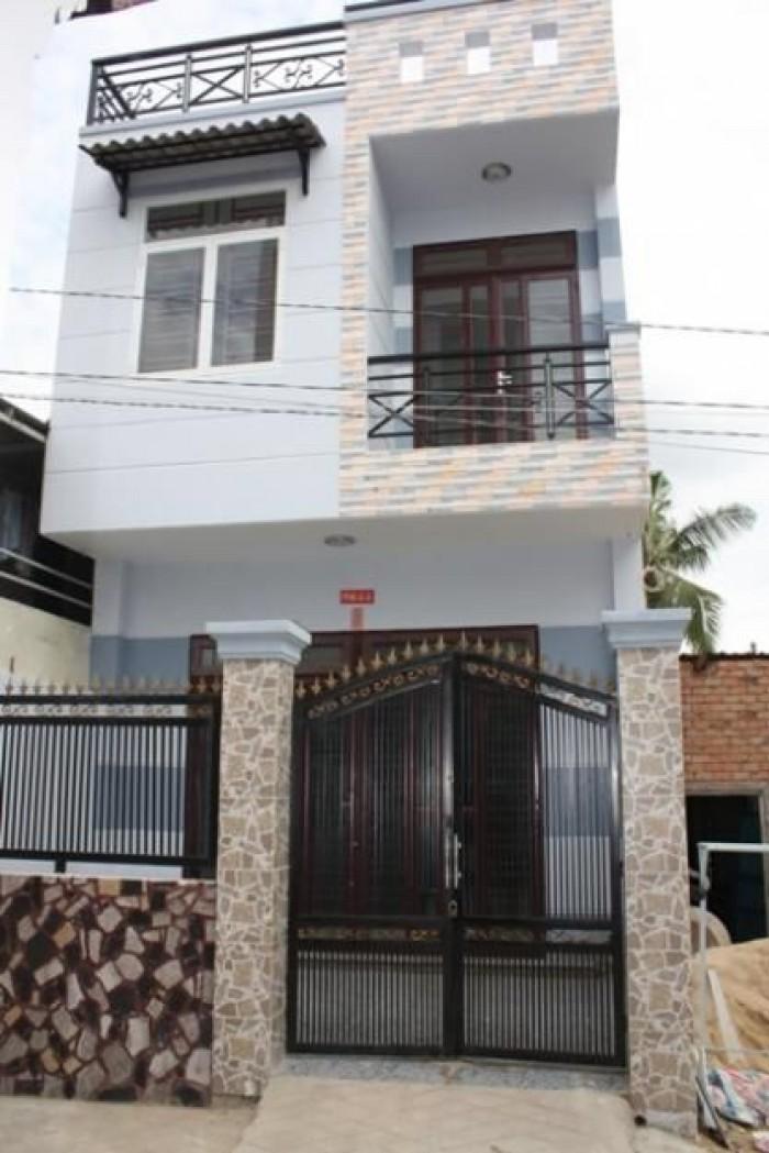 Bán gấp nhà 1 trệt 1 lầu 90m2 khu dân cư làng Đại Học, đường Nguyễn Hữu Thọ Nhà Bè.