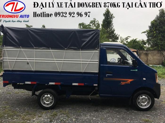 Xe Tải Nhẹ 990Kg Cần Thơ, Xe Tải An Giang, Dongben 990Kg 3