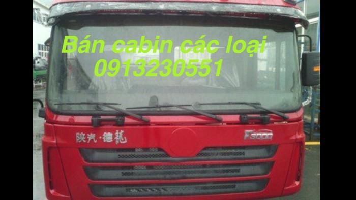 Cabin xe thaco jac shacman ben tải đầu kéo 65ps đến 540 cuu long dongfeng