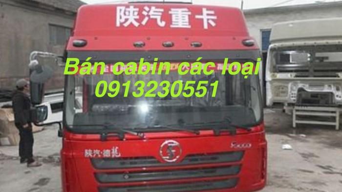 Cabin xe shacman l3000 nóc cao đủ bản thaco các mẫu dongfeng hoang huy đầu kéo