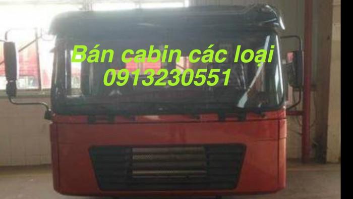 Cabin xe dongfeng hoang huy cuu long b160 190 viet trung truong giang cuu long shacman camc