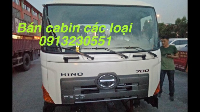 Cabin xe hino các cỡ jac kia dongfeng howo