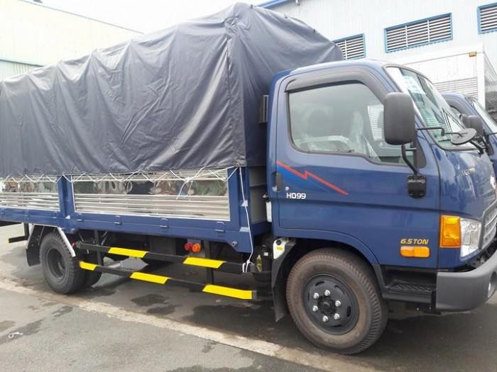 Xe Tải Hyundai HD99 6,5 tấn. Khuyến Mãi 100% Trước Bạ. Nhận Xe Ngay