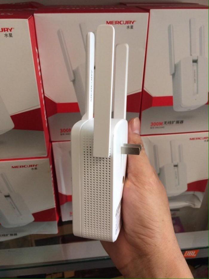 Thiết Bị Kích Sóng Wifi Mercury Repeater MW310RE 3 Anten1