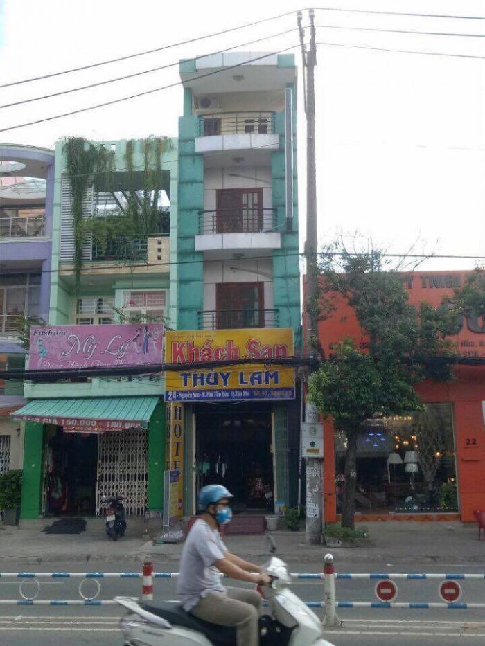 Bán nhà MTKD Nguyễn Sơn, P.Phú Thọ Hòa, Q.Tân Phú