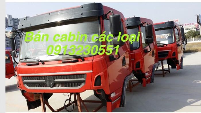 Bán cabin xe dongfeng 7-30 tấn, jac, vinaxuki, c&c thái bình howo a7 thaco forland ollin foton, cuulong 7 tấn, truong giang.