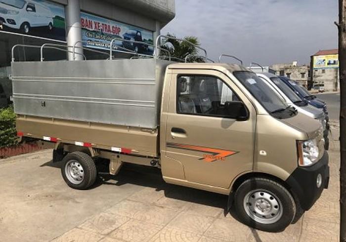 Xe Tải Dongben 870 Kg Thùng Mui Bạt - xe tải nhẹ Bình Dương