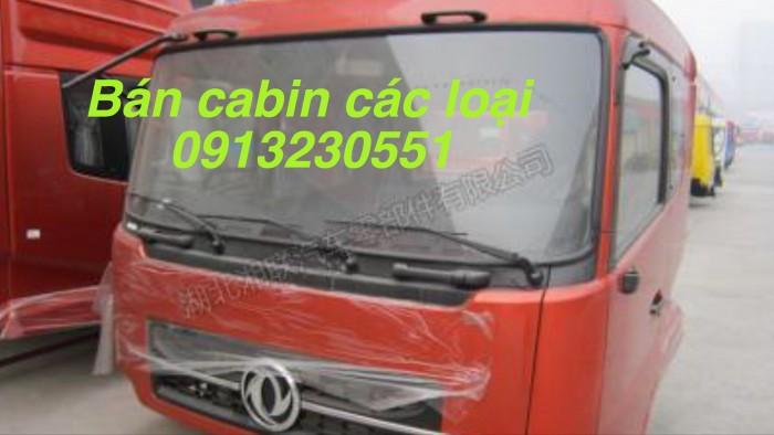 Bán cabin dongfeng b160-c260, howo đơn thaco forland chenglong nóc cao 2 giường shachman tmt cuu long 9 tấn