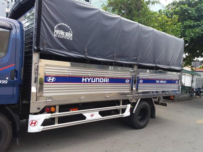 Hyundai Đô Thành Iz49 Thùng Mui Bạc.tổng Tải 49990Kg Lưu Thông Được Trong Thành Phố Không Hạn Chế