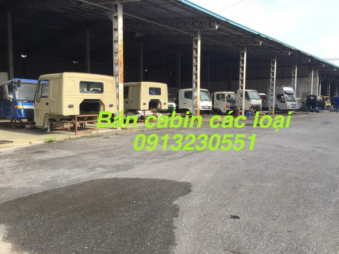 Bán cabin xe Howo Dongfeng Chenglong rửa đường cẩu tải Jac Cửu Long Thaco Forland Jac Việt Trung 7 tấn Trường Giang 3, 4 chân