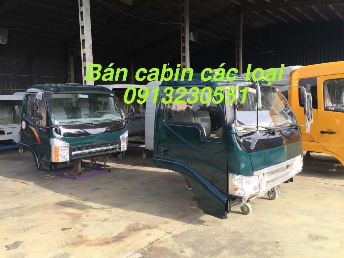 Bán cabin Cửu Long tmt 2 chân dongfeng Trường Giang thaco forland 3 chân