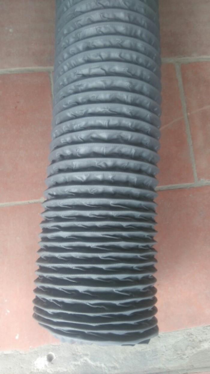 Ống gió vải bạt có lõi thép Simili D100, D125, D150 giá cạnh tranh miền bắc1
