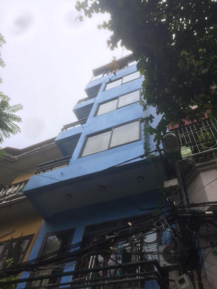 Bán nhà ngõ 64 Phan Đình Giót Thanh Xuân,  sổ đỏ 42m2 7 tầng mặt tiền 4,3m