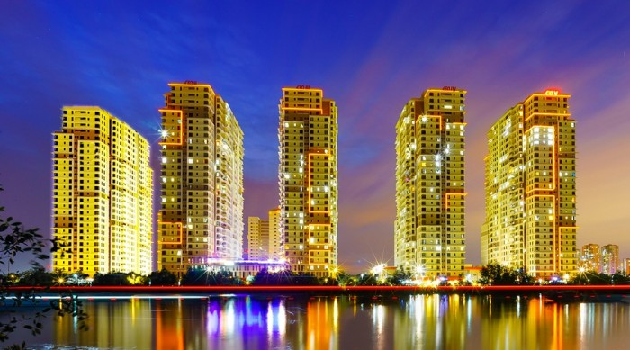 Căn hộ Q7 cách Phú Mỹ Hưng 500m, nội thất cơ bản, dọn vào ở ngay chỉ từ 1,14 tỷ, 3 view sông