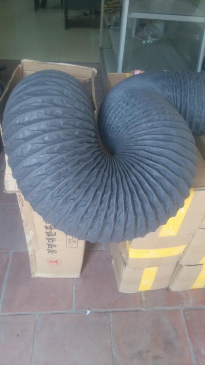 Ống gió hút mùn cưa bằng vải có lõi thép chống va đập mạnh - Vải simili4