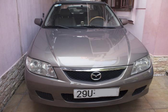 Mazda 323 sản xuất năm 2004 Số tay (số sàn) Động cơ Xăng