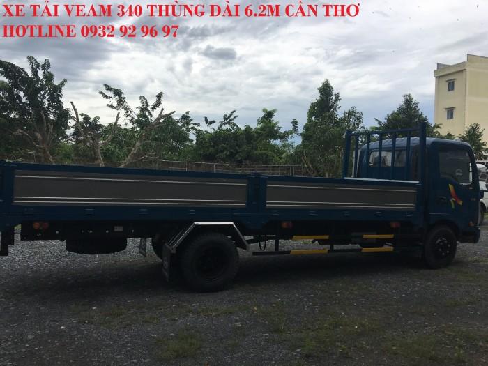 Bán xe Veam VT340S tải trọng 3,5 tấn thùng dài 6m động cơ Hyundai 2