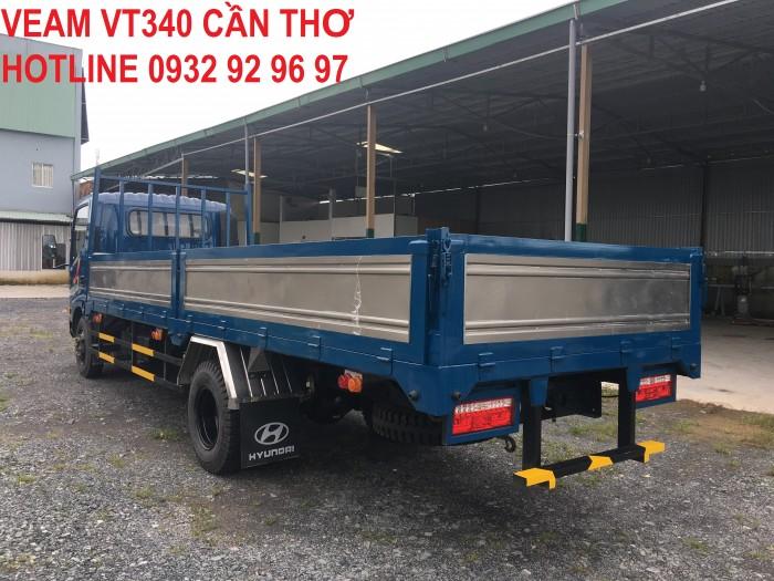 Bán xe Veam VT340S tải trọng 3,5 tấn thùng dài 6m động cơ Hyundai 0