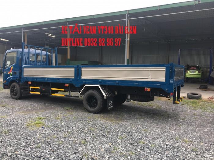 Bán xe Veam VT340S tải trọng 3,5 tấn thùng dài 6m động cơ Hyundai 1