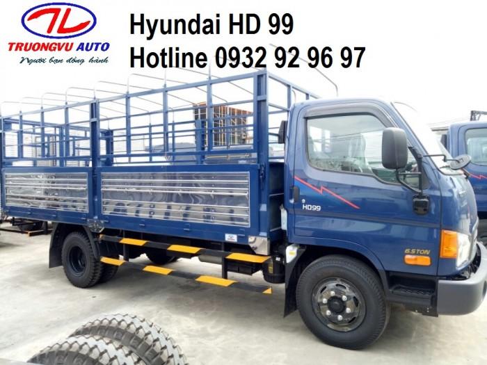 Bán Ô Tô Hyundai Hd99 Lx 2018, Màu Trắng, 600Tr