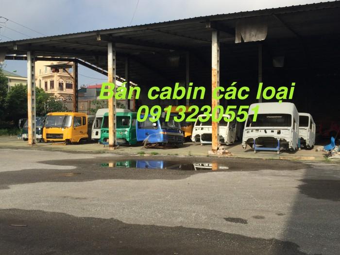 Bán cabin dongfeng howo 540 đủ loại chenglong balong cuu long jac camc shachman thaco các màu
