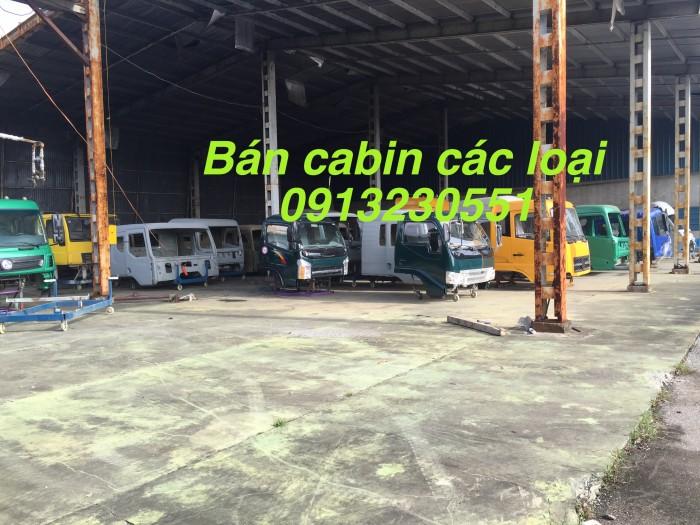 Bán vỏ cabin các cỡ Cửu Long hoa mai chiến thắng dongfeng howo chenglong jac balong kia hino isuzu đủ màu 700p 1000 p