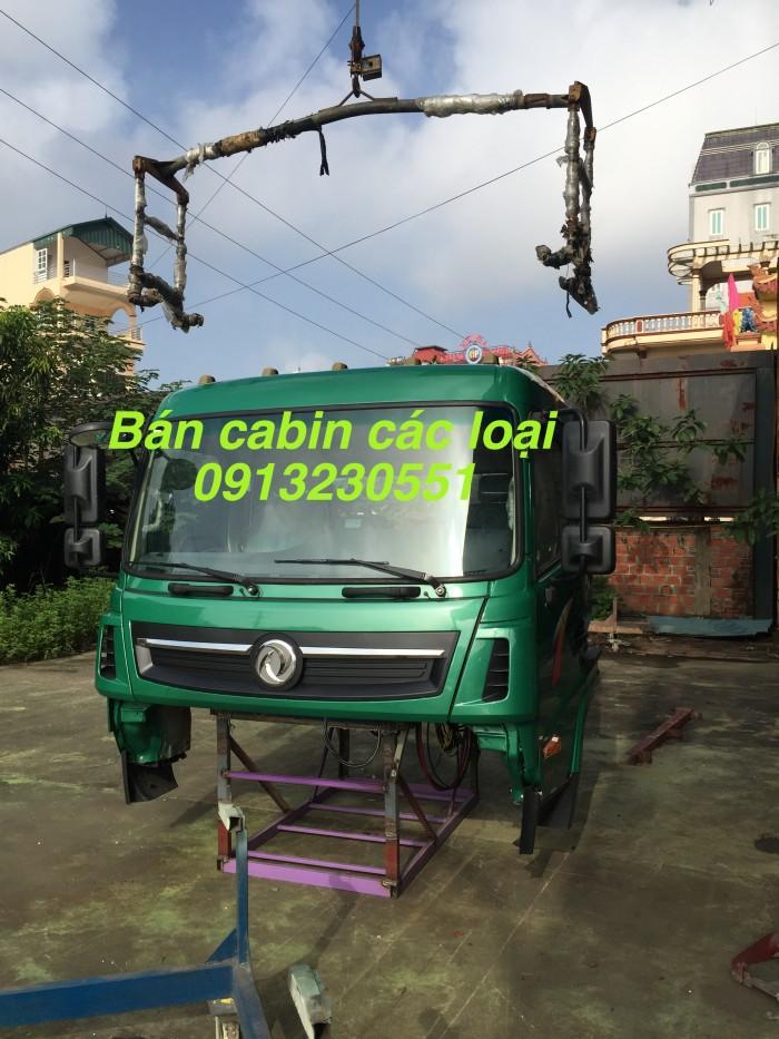 Bán cabin ben tải 8 tấn Cửu Long Trường Giang dongfeng